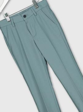 Green Formal Trousers