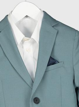 Green Formal Suit Jacket