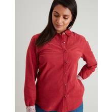 Raspberry Pink Corduroy Western Shirt