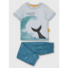 The Snail & The Whale Blue Lounging Pyjamas