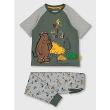 The Gruffalo Green & Grey Marl 'Don't Call Me Good' Pyjamas