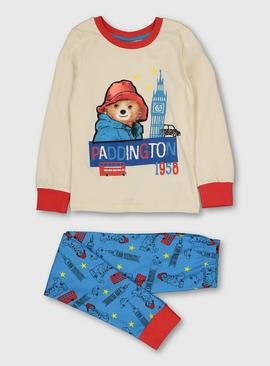Paddington Cream & Blue Pyjamas