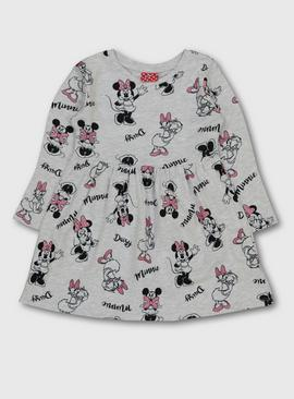 Disney Minnie Mouse & Daisy Duck Grey Dress