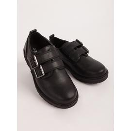 Black Buckle Shoes