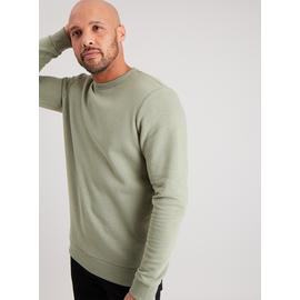 Sage Green Crew Neck Sweatshirt