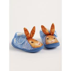 Peter Rabbit Blue Slippers