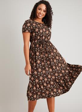 Paisley Print Tea Dress