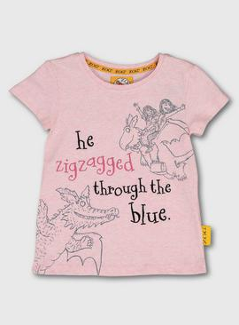 Zog Pink Character T-Shirt