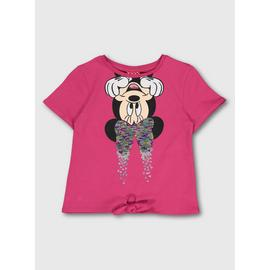 Disney Minnie Mouse Hot Pink T-Shirt