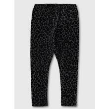 Black Sparkle Animal Print Leggings