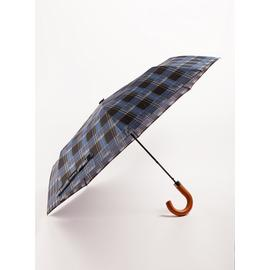 SOPHOS Blue & Black Check Umbrella - One Size