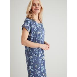 Navy Floral Nightdress