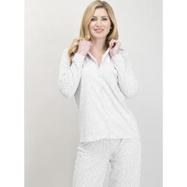Grey Spot Traditional Pyjamas