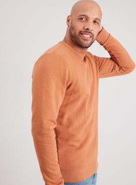 Tan Crew Neck Sweatshirt