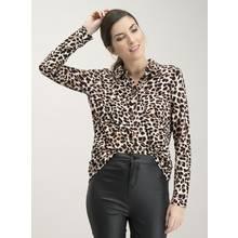 Leopard Print Jersey Shirt