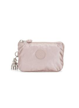KIPLING Metallic Pink Creativity S Small Purse - One Size
