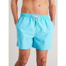 Blue Quick Dry Shortie Swim Shorts