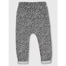 Grey Animal Print Joggers