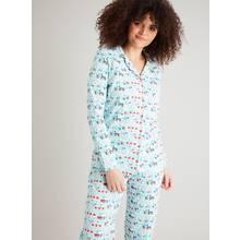 Blue Caravan Print Pyjamas