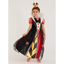 Disney Multicoloured Queen Of Hearts Costume - 5-6 years