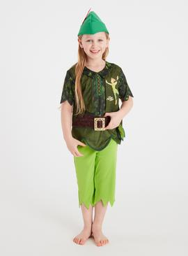 Disney Peter Pan Green Costume Set
