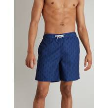 Navy Pineapple Print Recycled Board Shorts