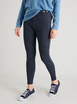 Multicoloured Textured Leggings