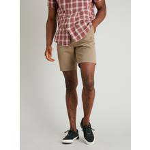 Stone Chino Shorts With Stretch