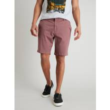 Dusky Mauve Chino Shorts With Stretch