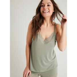Sage Green Soft Touch Cami & Pyjama Shorts Set