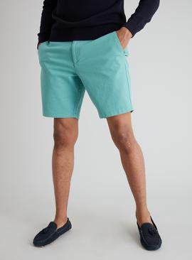 Light Teal Chino Shorts