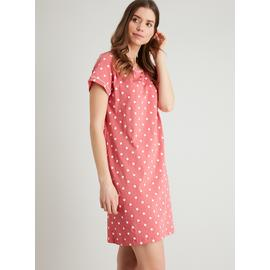 Raspberry Pink Spotted Nightdress