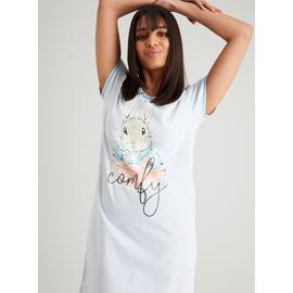Peter Rabbit Grey Marl Nightdress