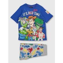Disney Toy Story Blue & Grey Playtime Short Pyjamas