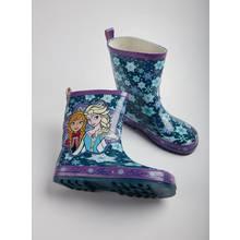 Disney Frozen Purple Elsa & Anna Wellies