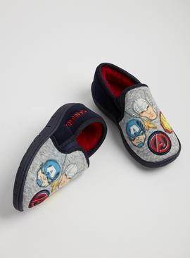 Online Exclusive Marvel Avengers Navy Slippers