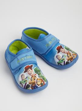 Online Exclusive Disney Toy Story Blue Slippers
