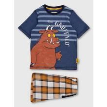 The Gruffalo Navy Short Pyjamas