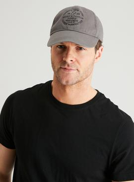Grey Tribeca New York Washed Cap - One Size