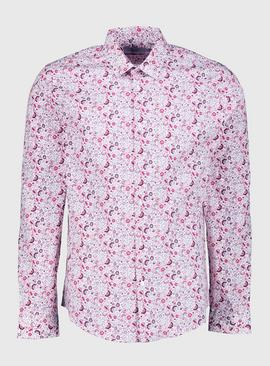 Ditsy Floral Print Regular Fit Shirt