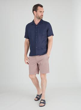 Ditsy Print Chino Shorts With Stretch