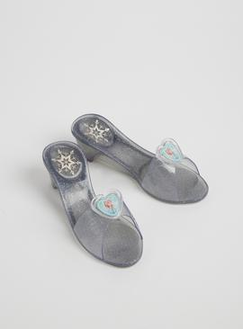 RUBIE'S Disney Frozen 2 Elsa Grey Jelly Shoes - One Size