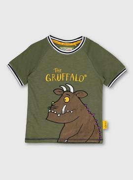 The Gruffalo Appliqué Khaki T-Shirt