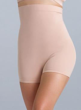 POWERLITE Nude High Waisted Seamfree Shorts