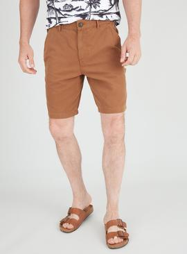 Tobacco Brown Carpenter Shorts