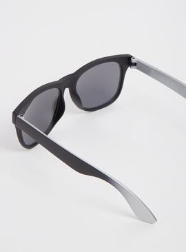 Black & Silver Ombré Sunglasses