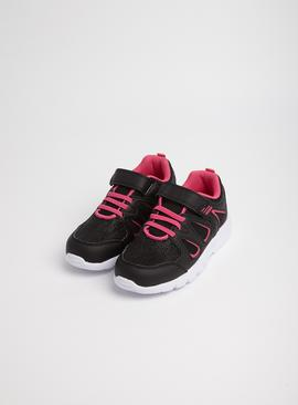 Pink & Black Trainers