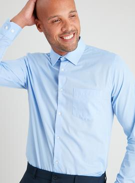 Blue Regular Fit Long Sleeve Shirt 2 Pack