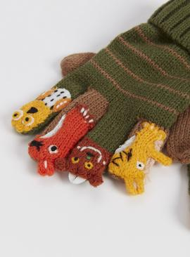 The Gruffalo Green Finger Puppet Gloves