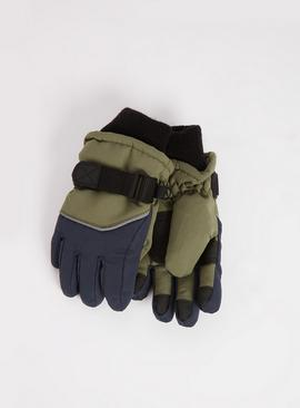 3M Khaki Snow Gloves